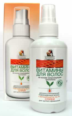 спрей витамины для волос