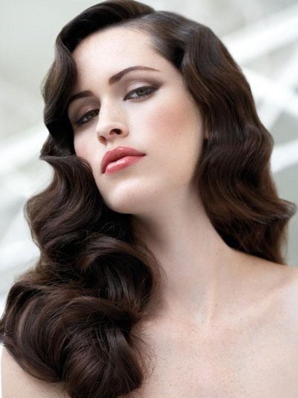 ретро прически на длинные волосы фото 2