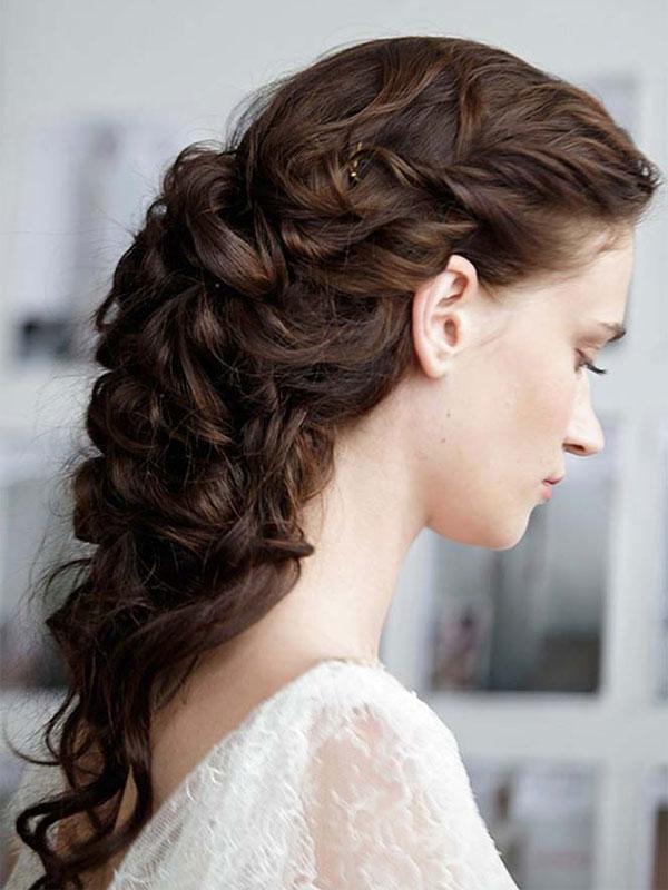 свадебные прически на длинные волосы фото 3