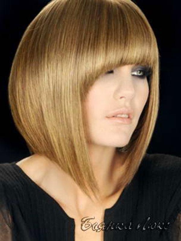 каре на средние волосы фото 1