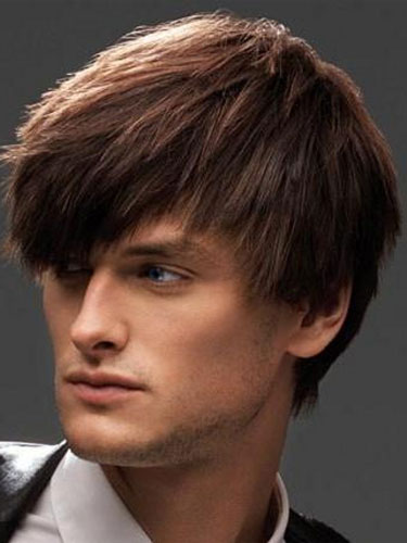 мужские прически на средние волосы фото 1