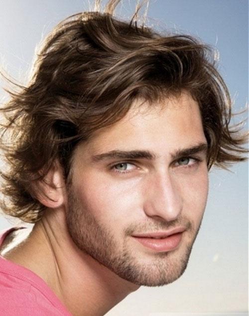 мужские прически на средние волосы фото 4