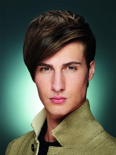 мужские прически на средние волосы фото 6