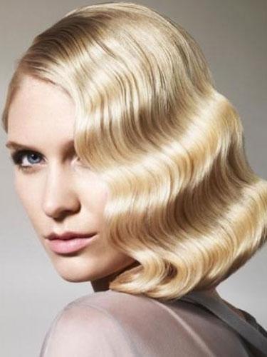 ретро прически на средние волосы фото 6