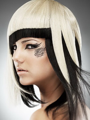 прически треш на средние волосы фото 1