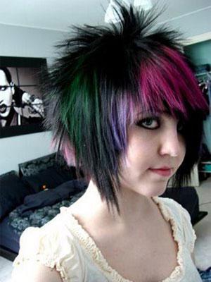 прически треш на средние волосы фото 3