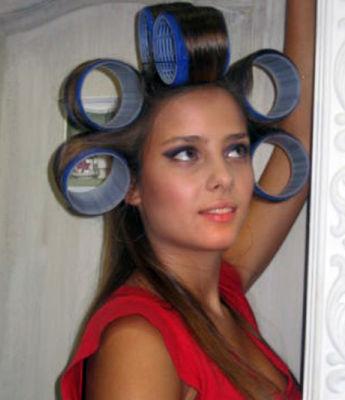 бигуди для длинных волос фото