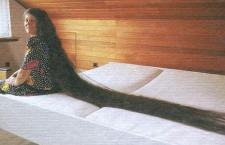 самые длинные волосы фото