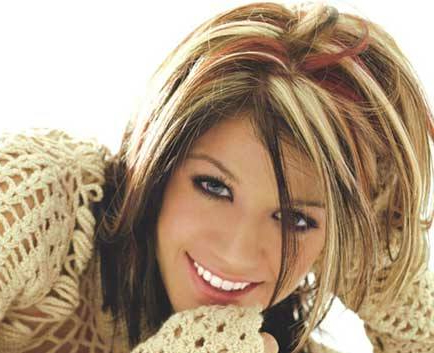 окрашенные волосы фото