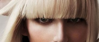 прическа на средние волосы