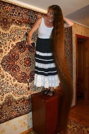 татьяна письменная самы длинны волосы России фото