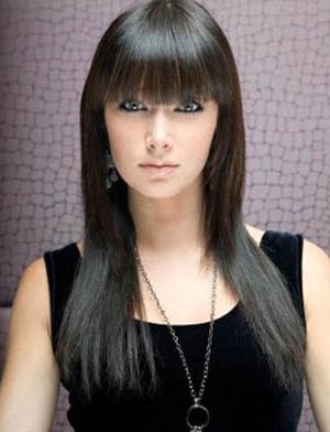 прямые волосы фото