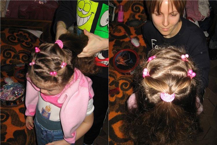 детские прически для девочек фото 2