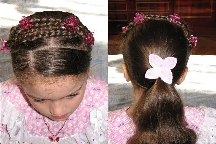 детские прически для девочек фото 3