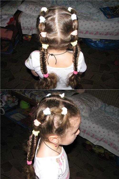 детские прически для девочек фото 4