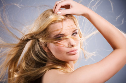 тонкие волосы фото