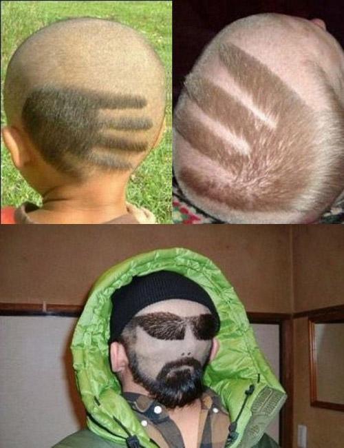 креативные стрижки на короткие волосы