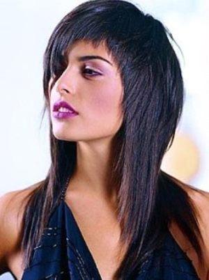 стрижка на длинные волосы фото