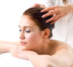 массаж головы фото
