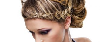 косички на средние волосы - фото 1