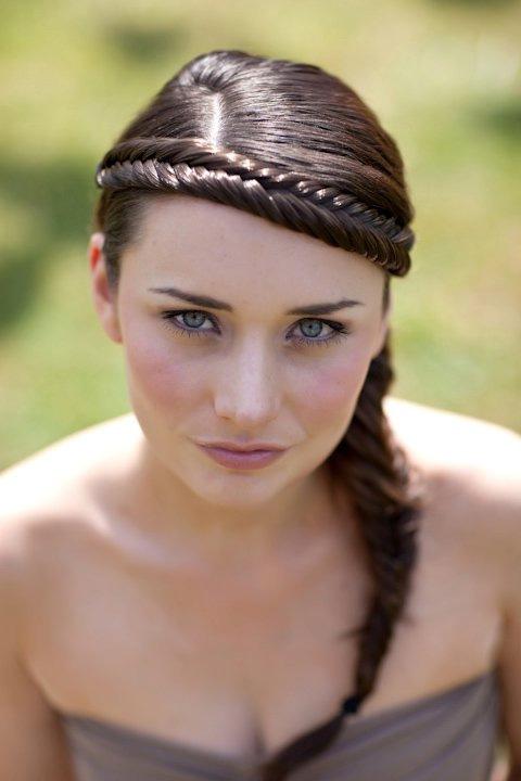 косички на средние волосы - фото 4