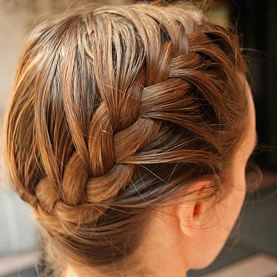 косички на средние волосы - фото 6
