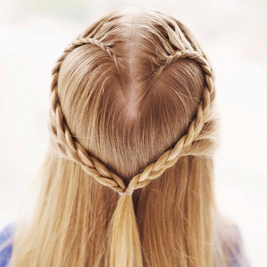 косички на средние волосы - фото 9