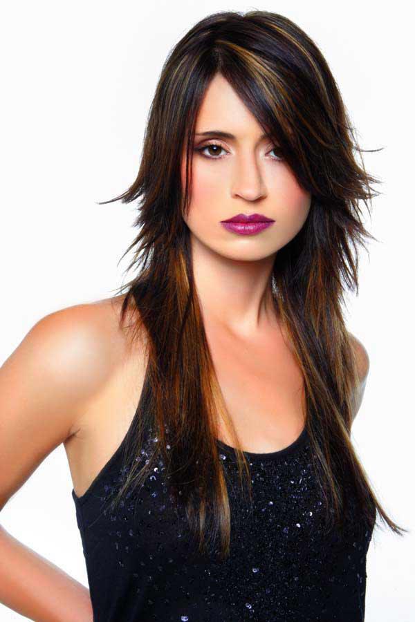 стрижка на длинные тонкие волосы