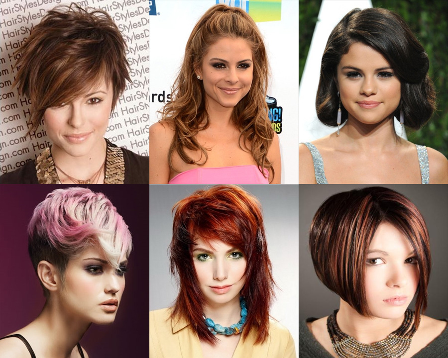 виды колорирование волос