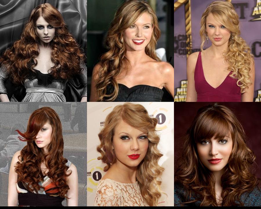 стрижки на длинные вьющиеся волосы фото