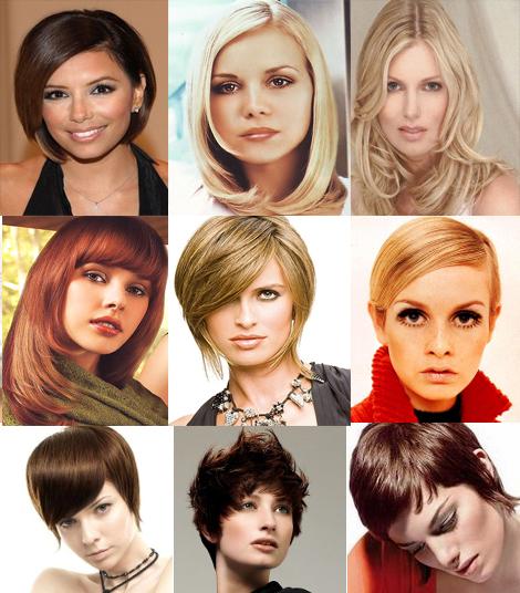 Причёски для овального