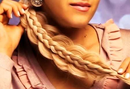 двойная французская коса