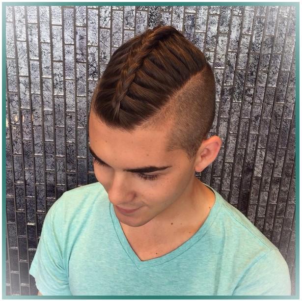 мужская французская коса
