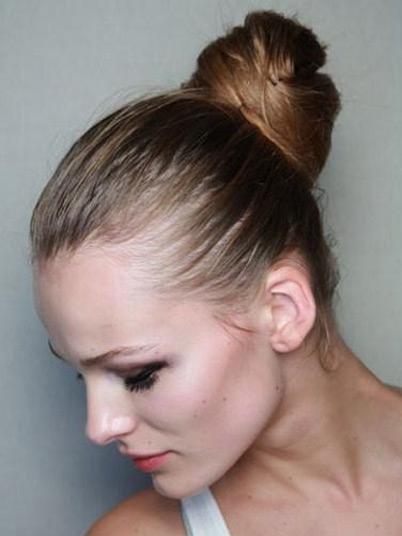 пучок из волос фото 2