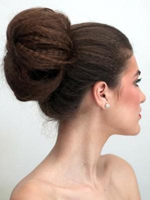 пучок из волос фото 4