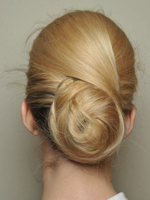 пучок из волос фото 6