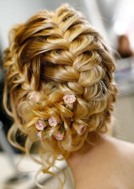 аксессуары для свадебной косы
