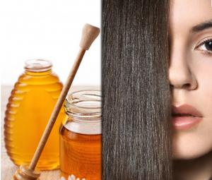лечение жирных волос медом