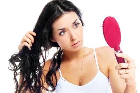 выпадение волос после родов фото