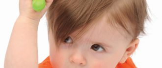 выпадение волос у ребенка фото