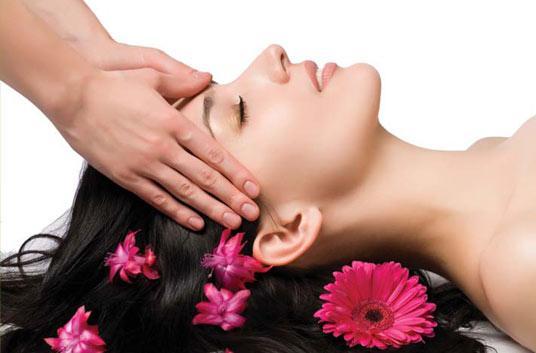 массаж головы от выпадения волос