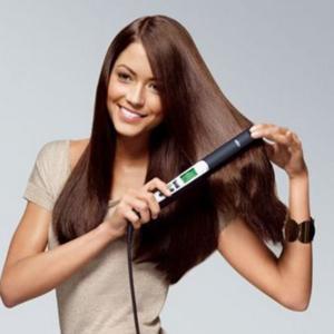 накручиваем волосы утюжком