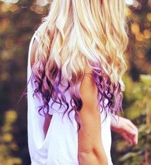 советы по колорированию кончиков волос