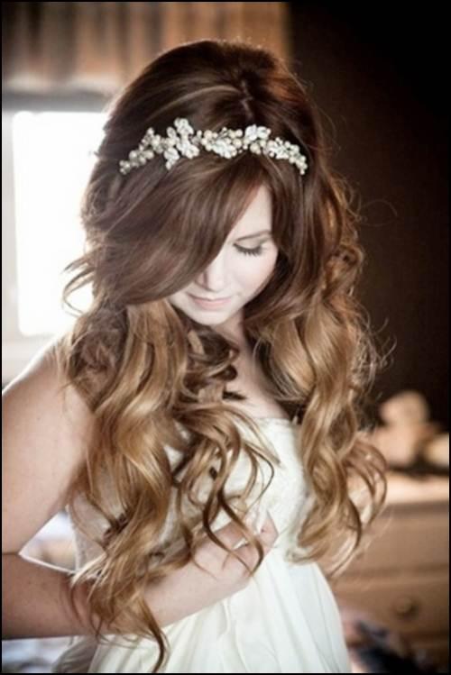 свадебная прическа фото 10