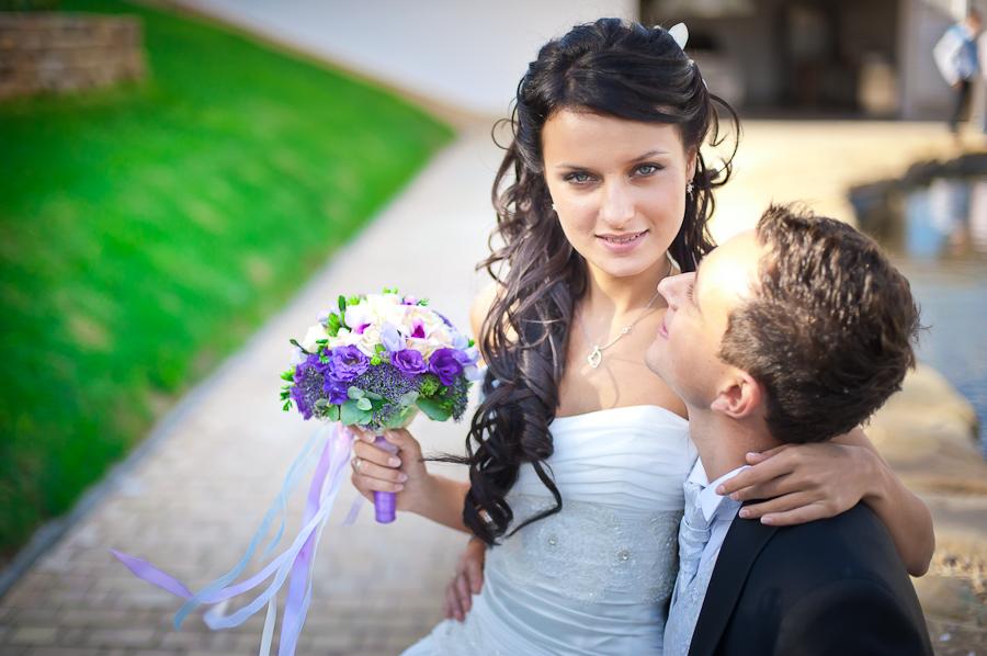 свадебная прическа фото 2