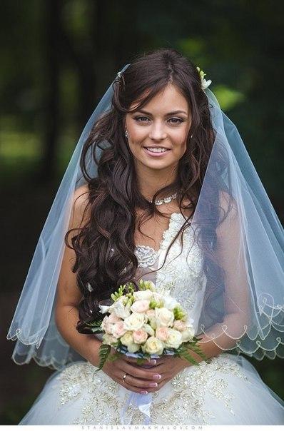 свадебная прическа фото 6