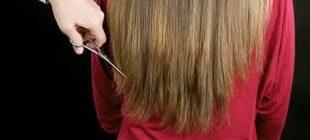 филировка волос
