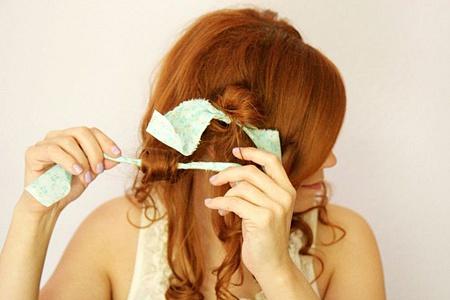 преимущества завивки волос на тряпочки