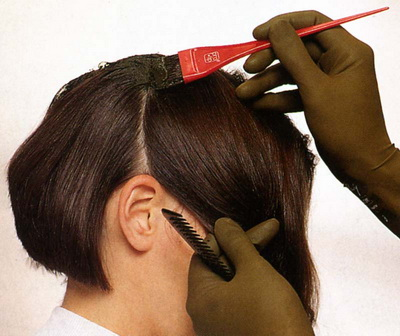советы по окрашиванию волос в два цвета