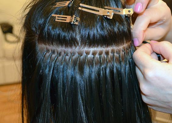 как сныть наращенные волосы